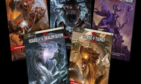 Dungeons & Dragons 5E Books