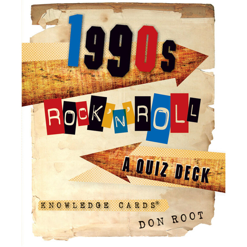 1990s Rock nand39 Roll A Quiz deck