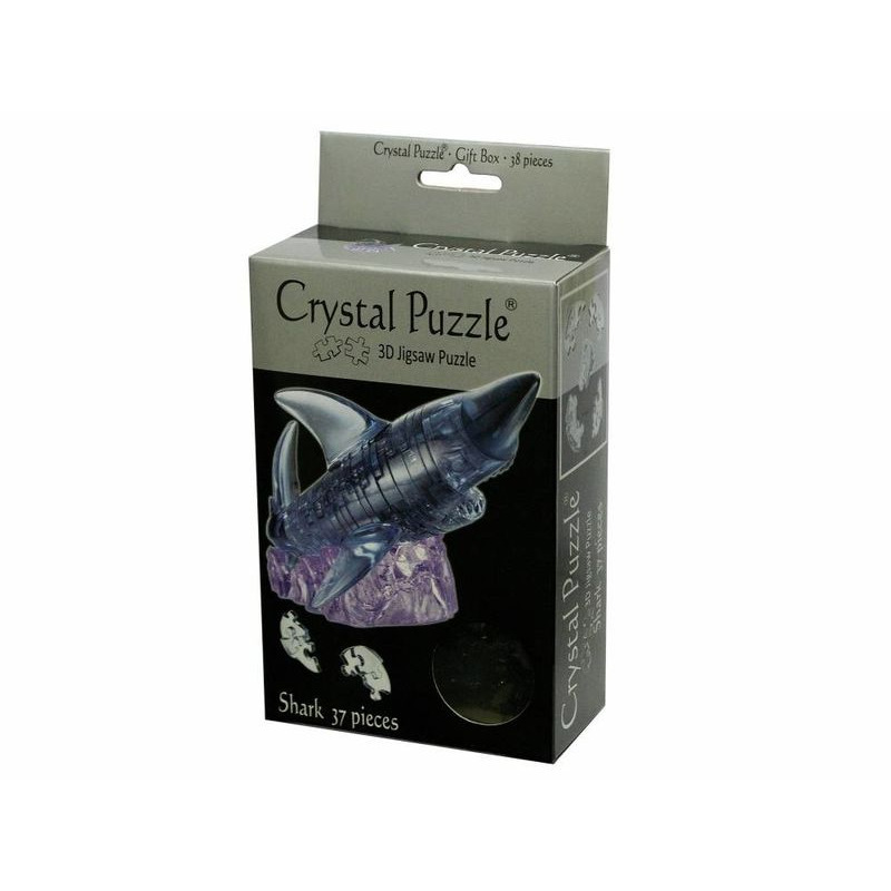 3D Crystal Puzzle  Black Shark