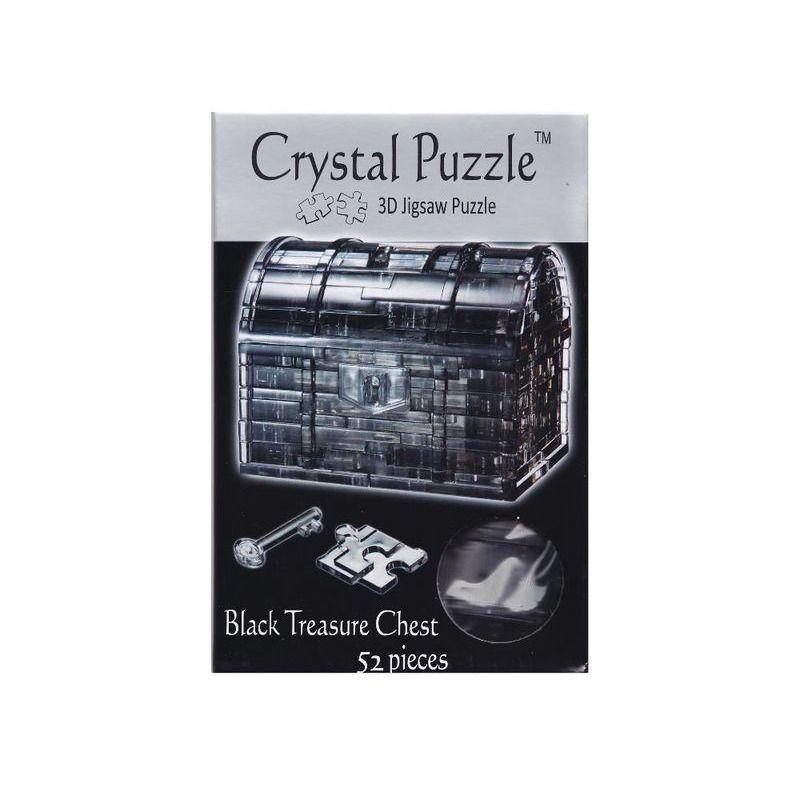3D Crystal Puzzle  Black Treasure