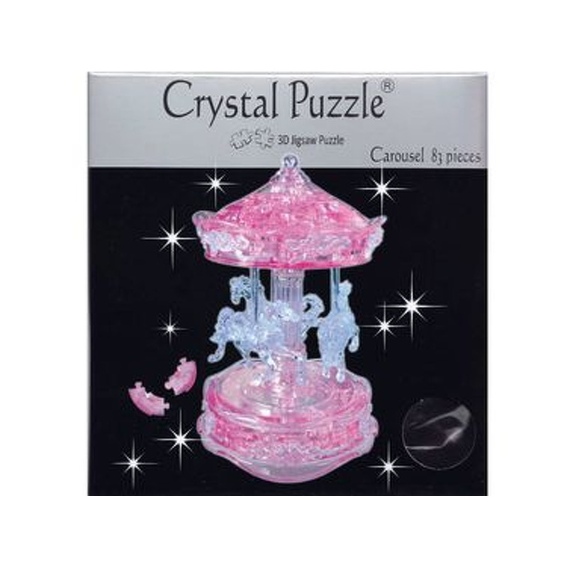 3D Crystal Puzzle  Carousel