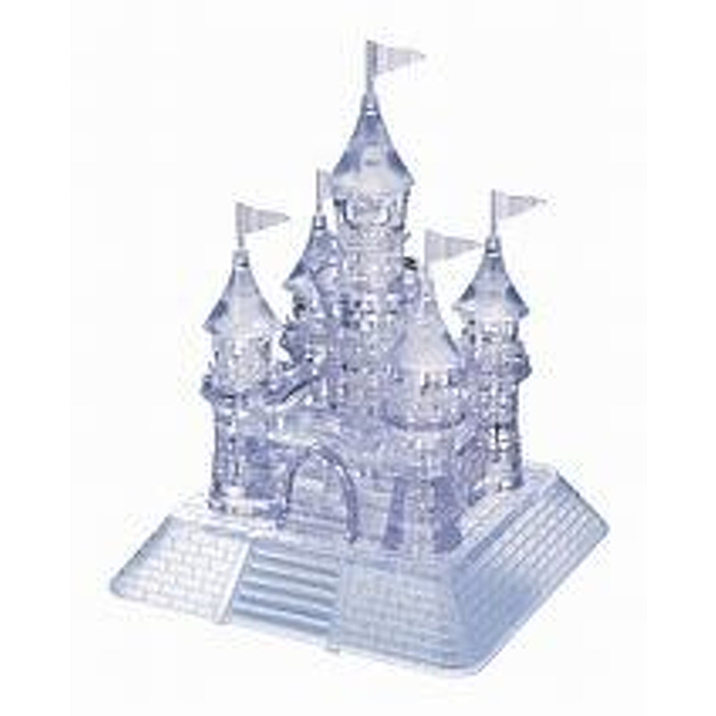 3D Crystal Puzzle  Castle Clear