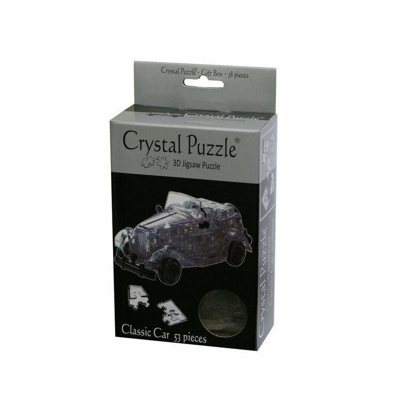 3D Crystal Puzzle  Classic Car Black