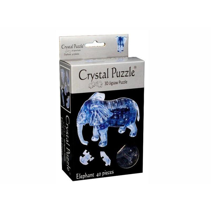 3D Crystal Puzzle  Elephant