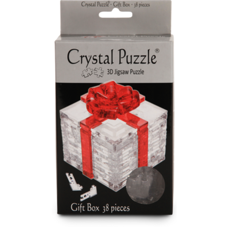 3D Crystal Puzzle  Gift Box