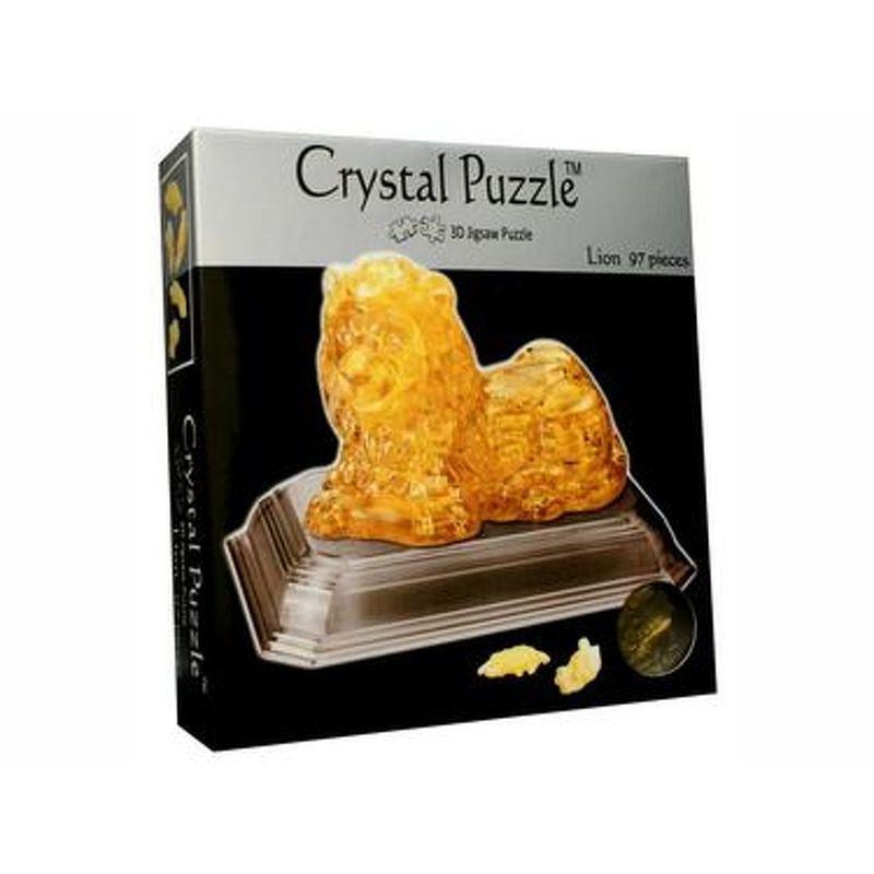 3D Crystal Puzzle  Lion