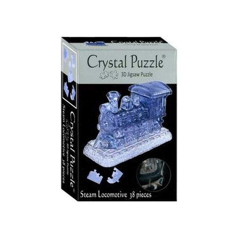 3D Crystal Puzzle  Locomotive