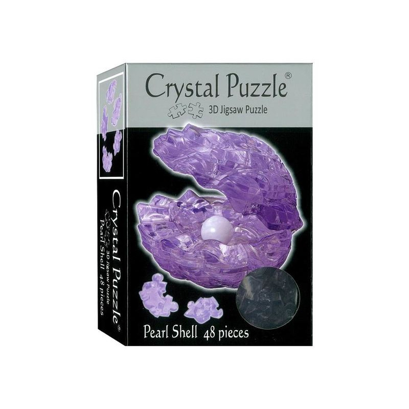 3D Crystal Puzzle  Pearl Shell