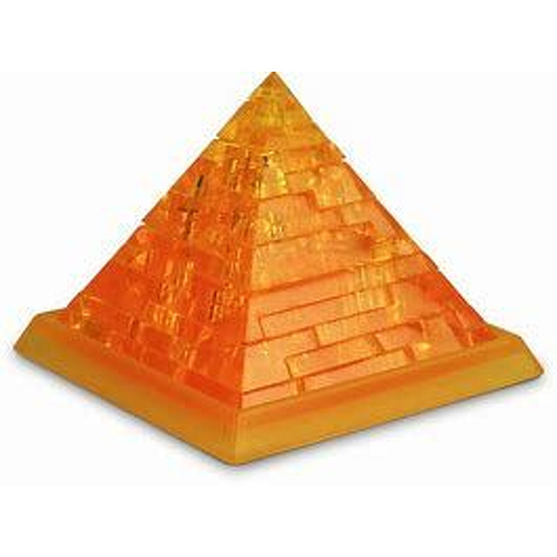 3D Crystal Puzzle  Pyramid