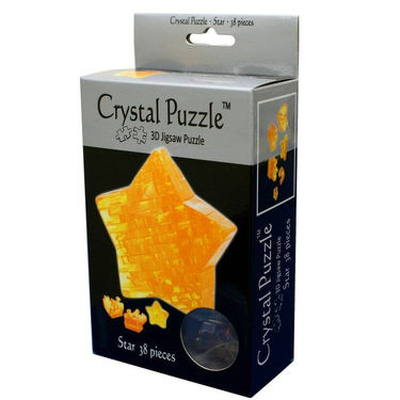 3D Crystal Puzzle  Star