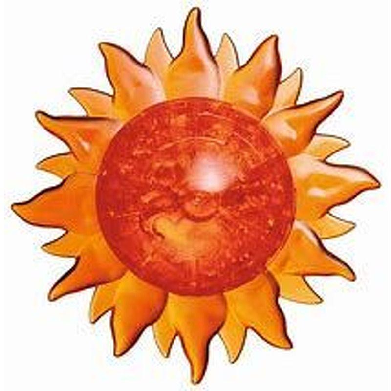 3D Crystal Puzzle  Sun
