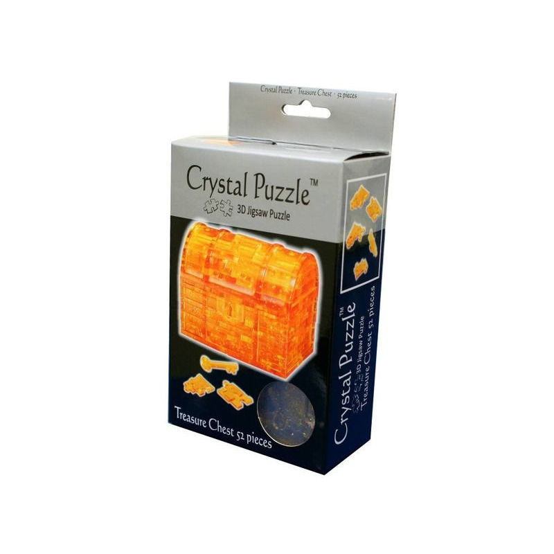 3D Crystal Puzzle  Treasure Chest