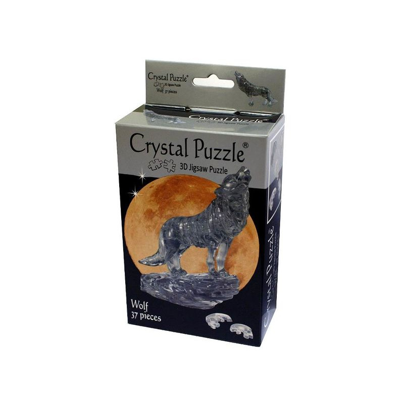 3D Crystal Puzzle  Wolf
