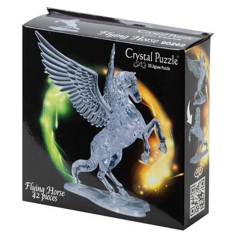 3D Crystal  Flying Horse