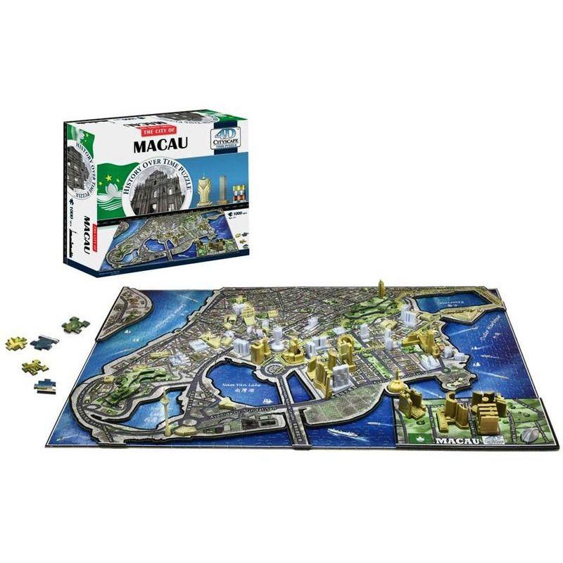 4D Cityscape Puzzle  Macau