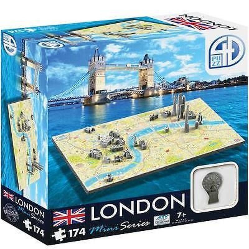 4D Cityscape Puzzle  Mini Series  London