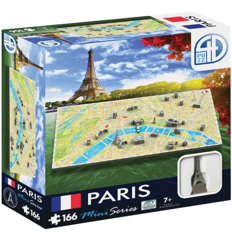 4D Cityscape Puzzle  Mini Series  Paris