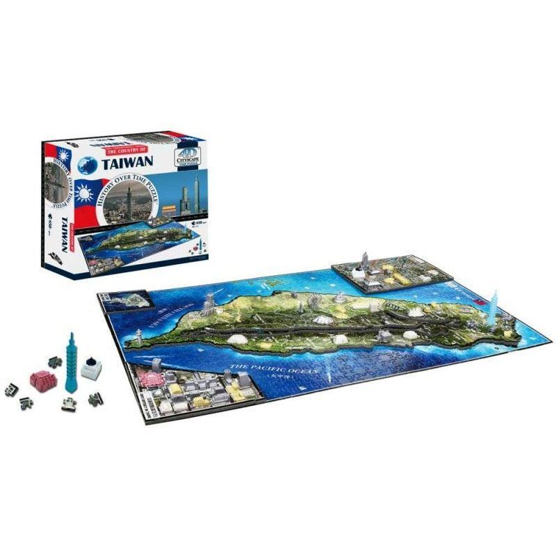4D Cityscape Puzzle  Taiwan
