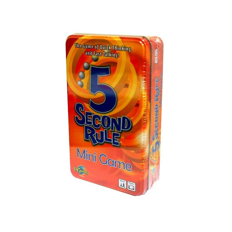 5 Second Rule Card Game