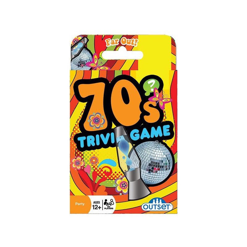 70and39s Trivia Card Game