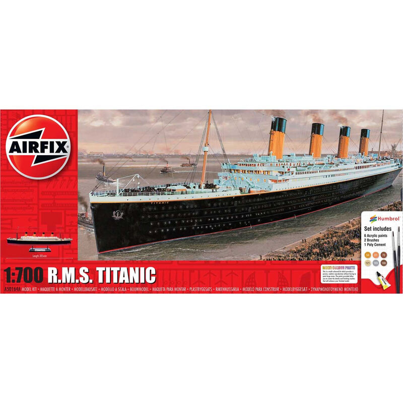 Airfix  RMS Titanic Medium Gift Set