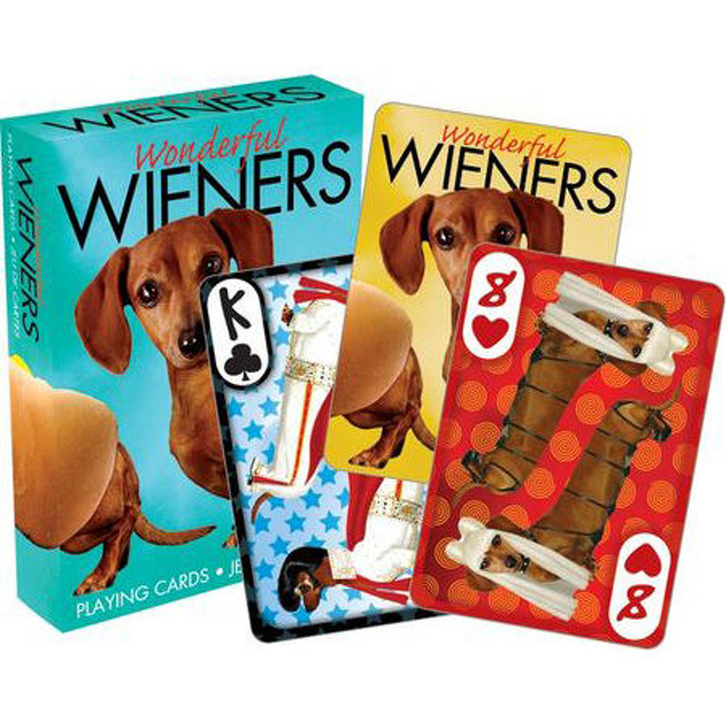 Aquarius  Playing Cards Single  Wonderful Weiners