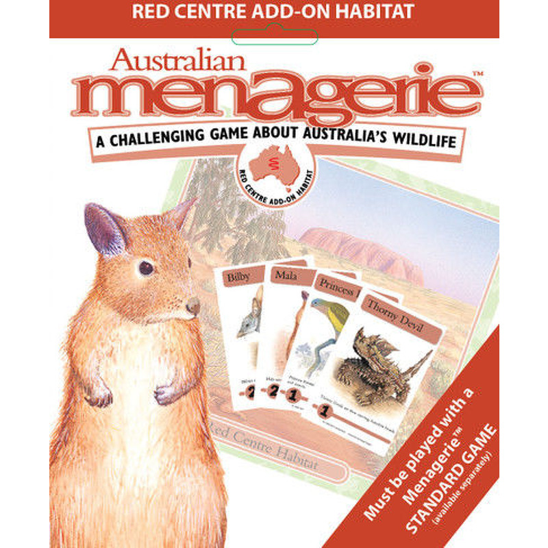 Australian Menagerie  Red Centre Expansion
