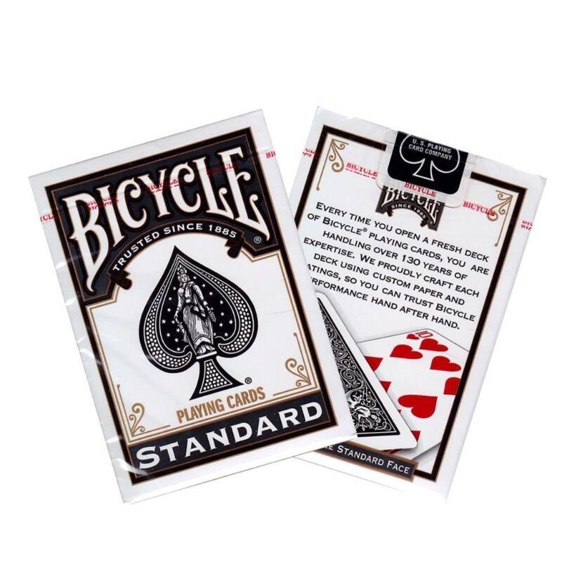 Bicycle Playing Cards - Single Rider Backs 808 Black