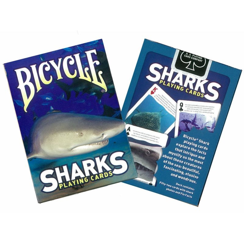 Bicycle Playing Cards Single  Sharks