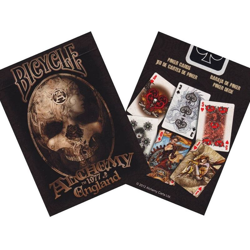 Bicycle Playing Cards Single   Poker Alchemy II
