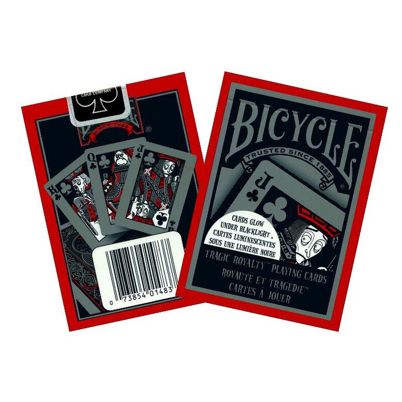 Bicycle Playing Cards Single   Poker Tragic Royalty