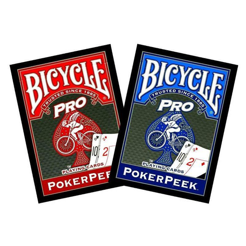 Bicycle Playing Cards Single   Pro Poker Peek