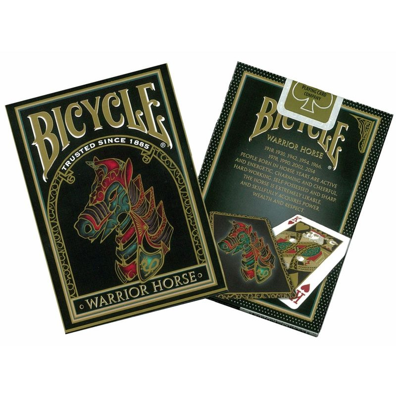 Bicycle Playing Cards Single   Warrior Horse