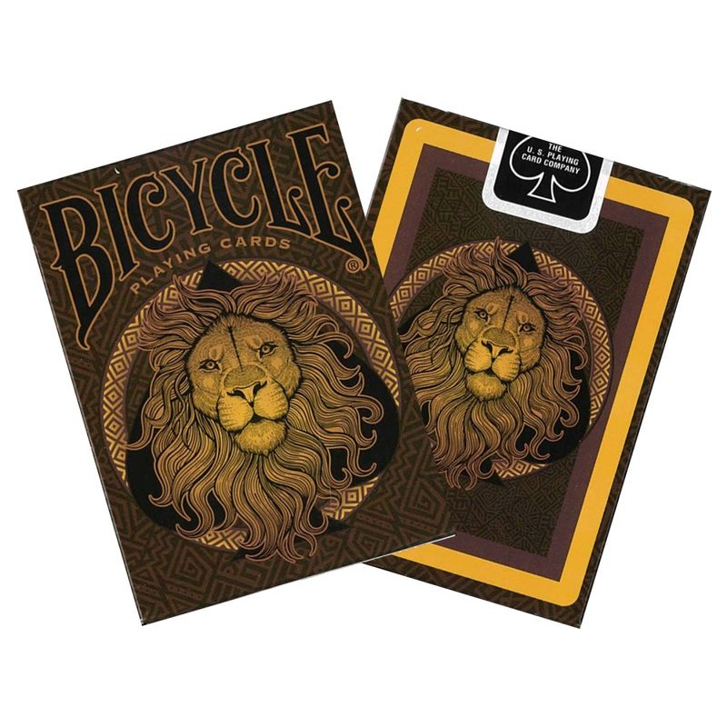 Bicycle Playing Cards  Lion