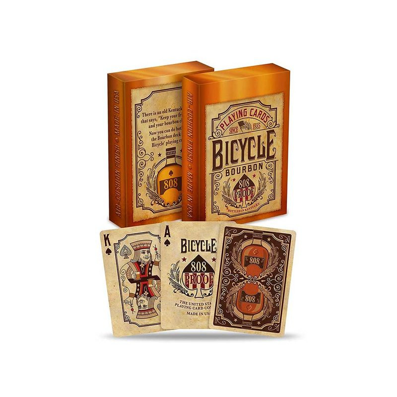 Bicycle Playing Cards  Single Bourbon