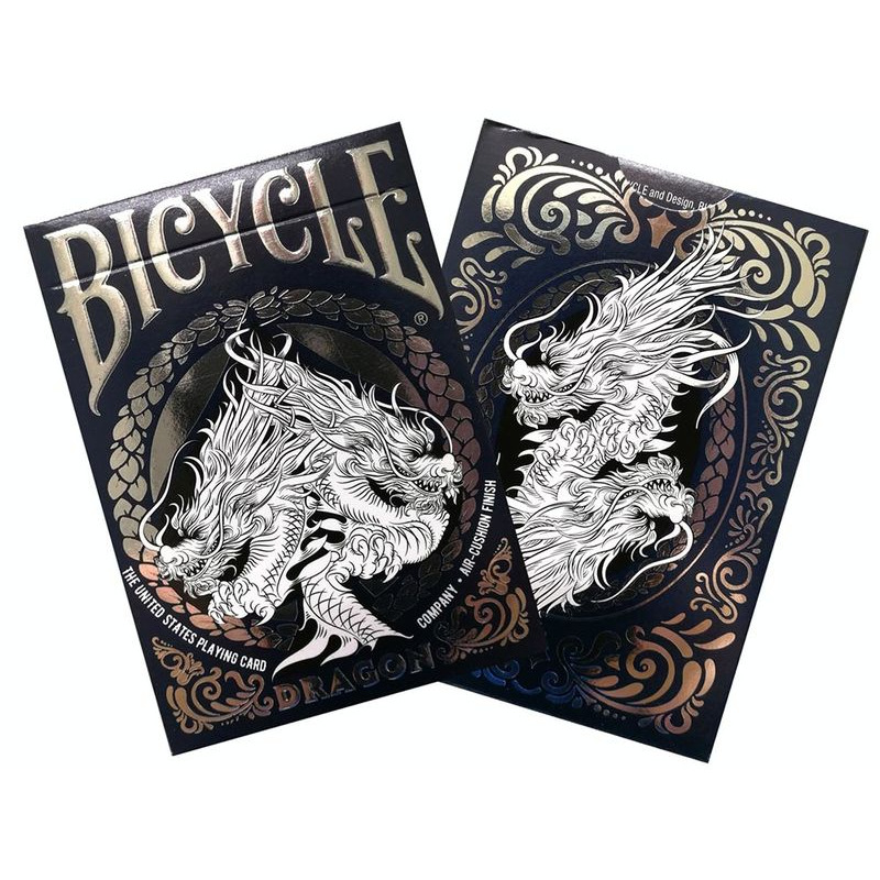 Bicycle Playing Cards  Single Dragon Foil