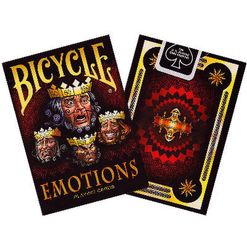 Bicycle Playing Cards  Single Emotions