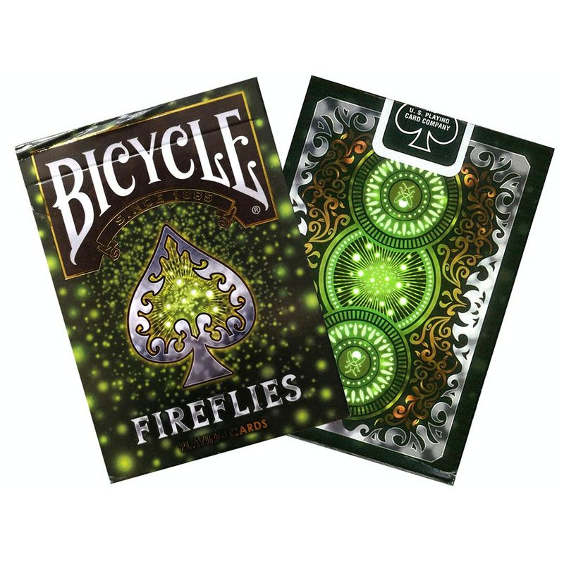 Bicycle Playing Cards  Single Fireflies Foil
