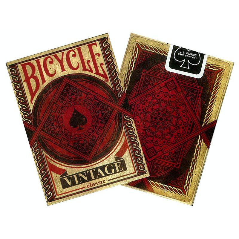 Bicycle Playing Cards  Single Poker Vintage Classic