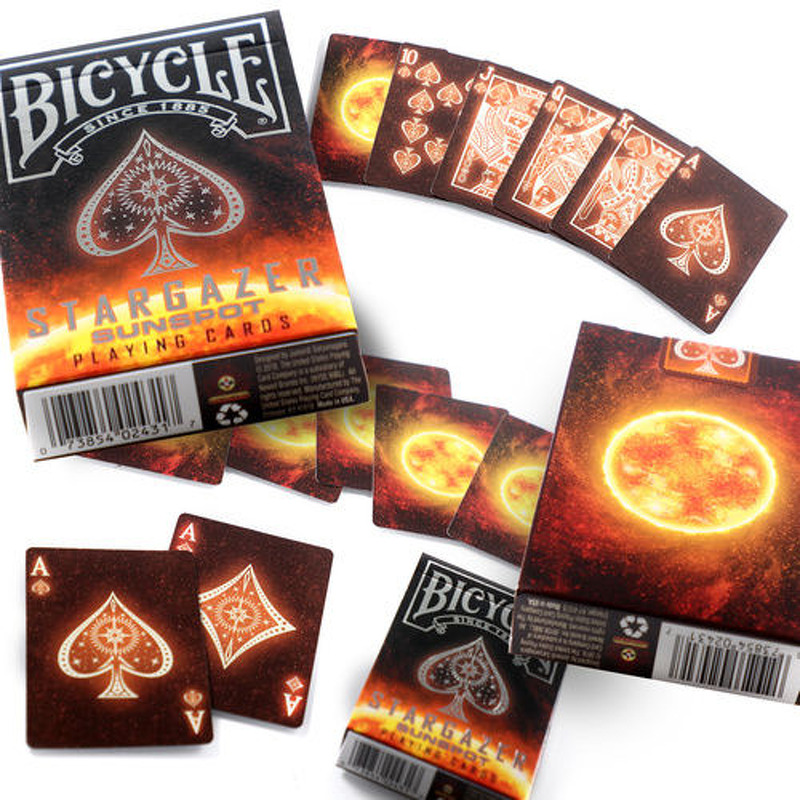 Bicycle Playing Cards  Single Stargazer Sunspot