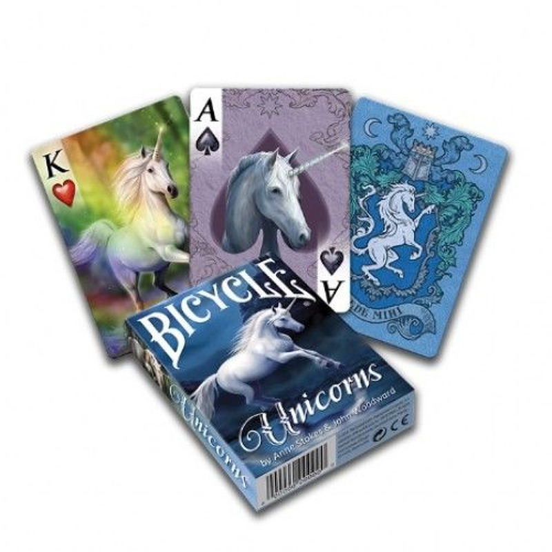 Bicycle Playing Cards  Single Stokes Unicorns