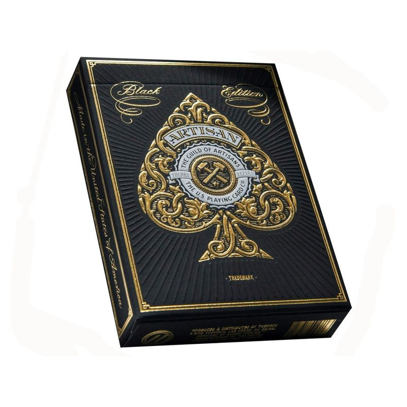 Bicycle Playing Cards  Theory 11 Artisan Black Foil