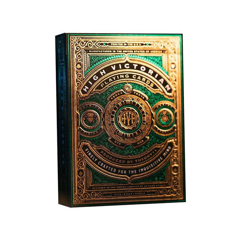 Bicycle Playing Cards  Theory 11 High VictGreen Foil