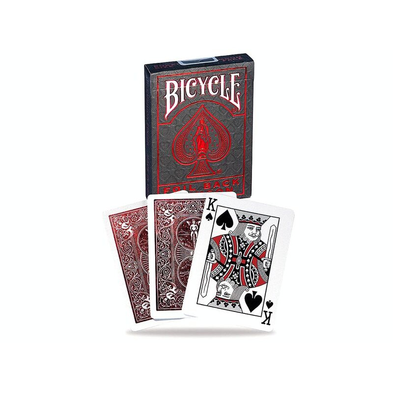 Bicycle Playing Crads   Single Foil Back Crimson