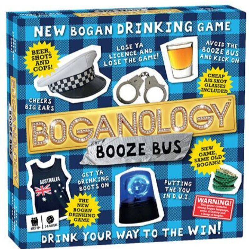 Boganology  Booze Bus