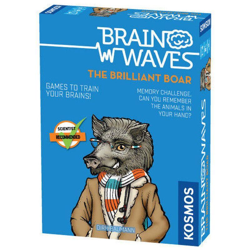 Brain Waves the Brilliant Boar