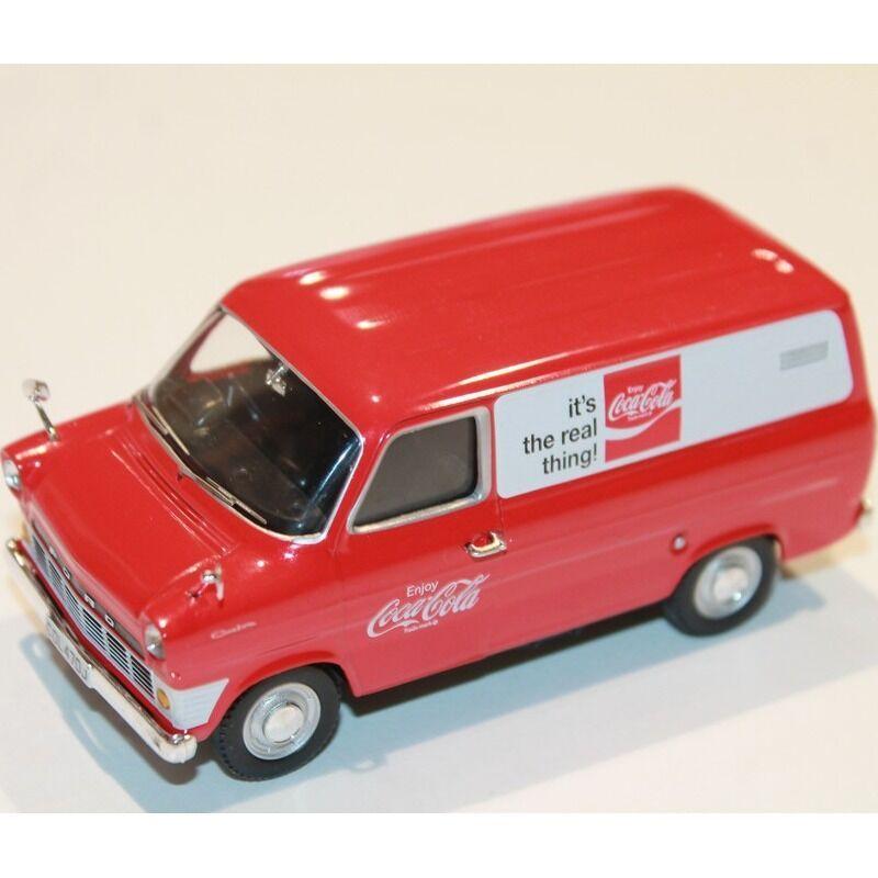 Car  Corgi  Coca Cola 1970 Ford Transit