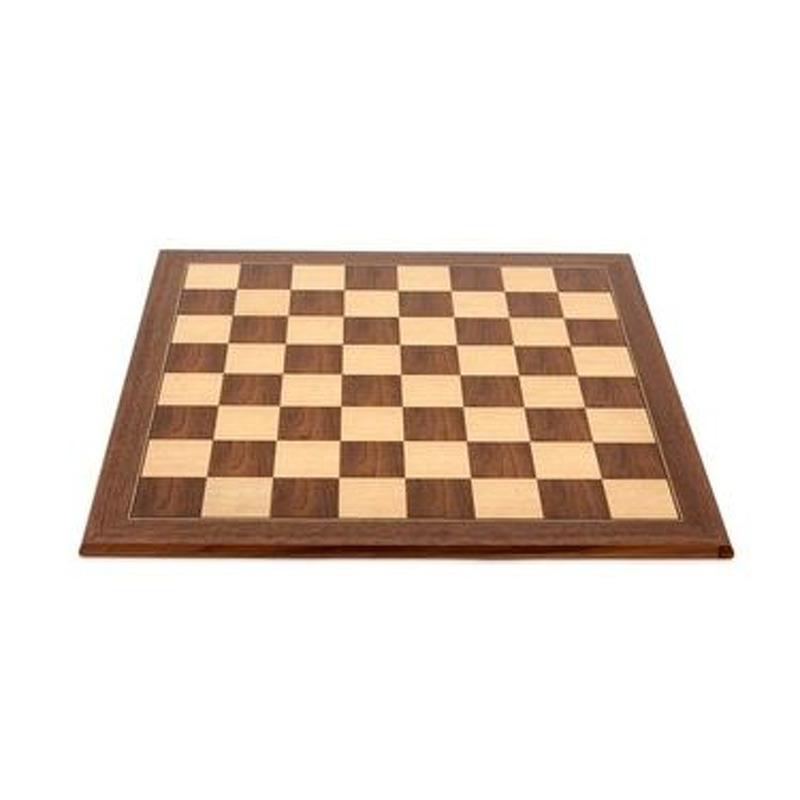 Chess board  Economy walnut 50cm