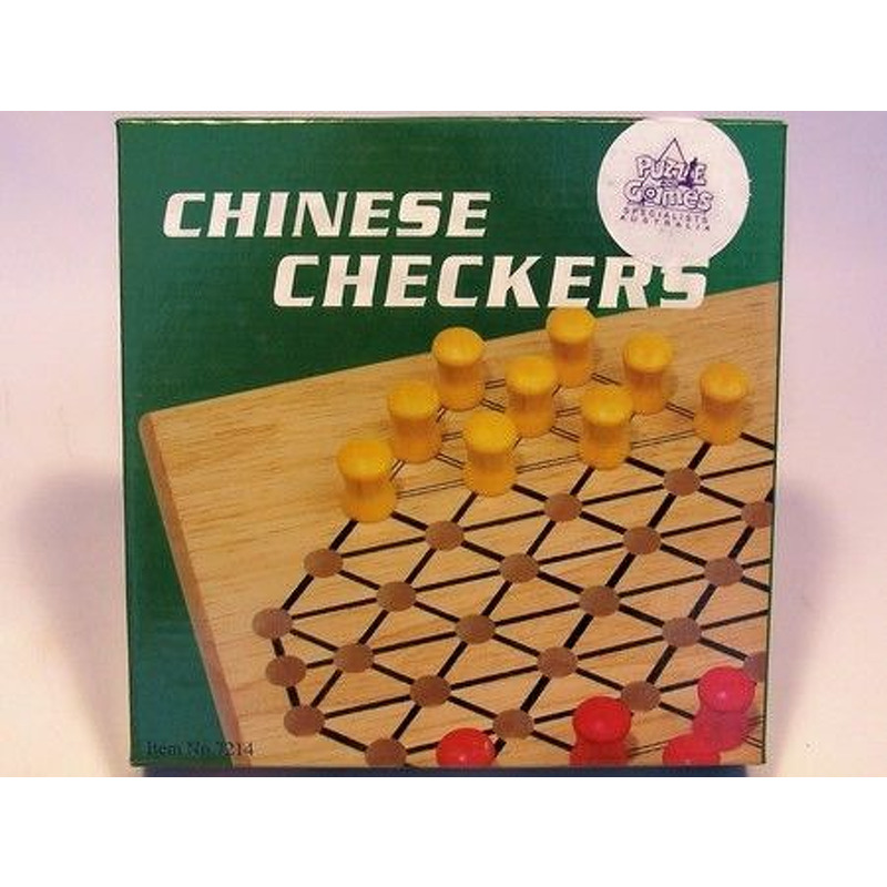 Chinese Checkers 7andquot Timber Travel