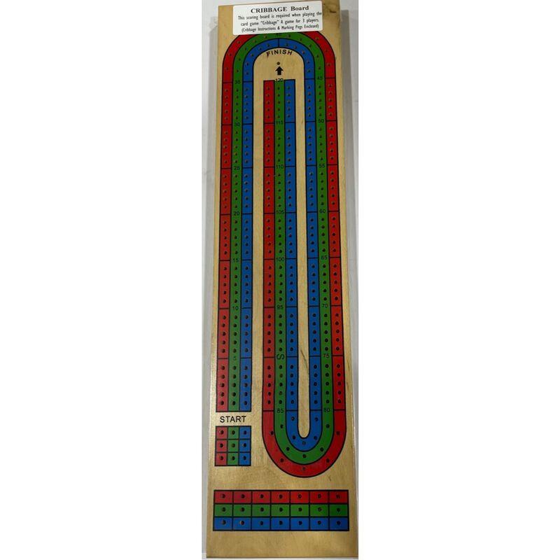 Cribbage Board 3 Colour